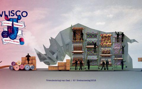 Thema 2018: Helmond; de Vlisco. 'Gemaakt in Helmond, gewild in Afrika.'